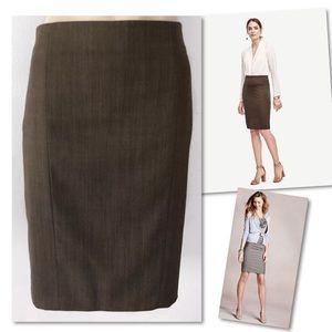 Ann Taylor Skirts - Ann Taylor Petite Herringbone Suit Skirt 10P